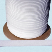 Bias Tape ~ 1.3cm Wide Double-fold Bias Tape ~ White Poly Cotton