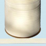 Bias Tape ~ 1.3cm Wide Double-fold Bias Tape ~ OFF WHITE ~ Poly Cotton