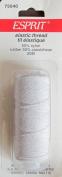 Elastic Thread, 21.8 Yards - White
