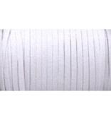 Braided Elastic 0.6cm Wide 144 Yards - White