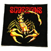 Scorpions rock Music Band Embroidered Iron On Applique