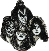 Kiss - Faces - Iron on or Sew on Embroidered Patch