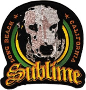 Sublime - Lou Dog - Iron on or Sew on Embroidered Patch