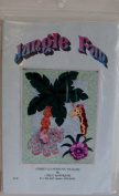 Jungle Fun Quilting Pattern for Wall Hanging by Sunset Silhouette Designs
