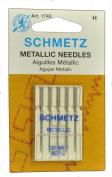 SCHMETZ Metallic Sewing Needled Size 80/12