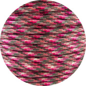 Springfield Leather Company's Neon Pink Camo 550lb Parachute Cord Paracord 100ft