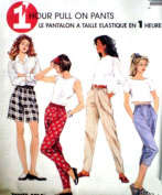 McCall's Sewing Pattern 8275 Misses' 1 Hour Pull-on Pants, Capri, Shorts, Y