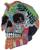 La Muerte Del Mexican Voodoo Sugar Skull Embroidered iron-on/sew-on patch