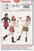 Burda Pattern 9562 for Girl's Skirt in Sizes 10 - 15jun