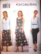 Butterick Sewing Pattern 4508 Misses'/ Misses' Petite Jacket, Dress & Skirt, Size 6 8 10