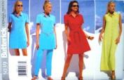 Butterick Sewing Pattern 5039 Misses' Dress/tunic, Belt & Pants, Size 12 14 16
