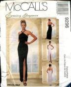 McCall's 9296 Misses' Sleeveless Lined Floor Length Dress - Size B 8 10 12