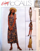 McCall's Sewing Pattern 8846 Misses' Unlined Vest, Jumper, Top & Pull-on Pants, Size C