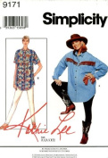 Simplicity 9171 Misses' Maternity Shirt and Leggings, Size 10 12 14 16