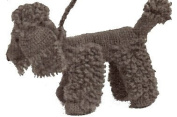 Vintage Crochet PATTERN to make - Toy Dog Puppy French Poodle. NOT a finished item. This is a pattern and/or instructions to make the item only.
