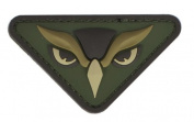 "Mil-Spec Monkey ""Owl Head"" PVC hook and loop Patch - Multicam"
