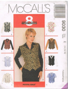 Misses Tops Sizes 14-16-18 - McCall's 8 Great Looks 1 Easy Pattern 9030 - Petite-Able