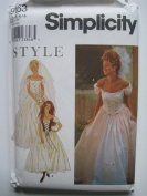 Simplicity Pattern 9163 Misses' Gown/Dress Sizes 6-16