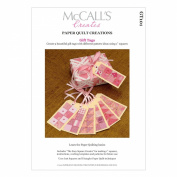 McCall's Creates W10601 Paper Quilt Creations Craft Pattern, Gift Tag Starter Kit