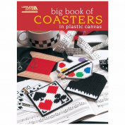 Leisure Arts-Big Book Of Coasters In Plastic Canvas