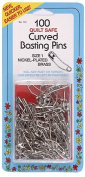 Collins Curved Basting Safety Pins Size1 100pc