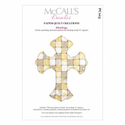 McCall's Creates W10634 Paper Quilt Creations Craft Pattern, Blessings Picture/Card Combo