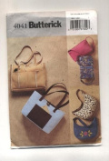 Butterick Purses, Handbags Sewing Pattern #4041