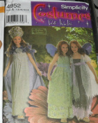 Simplicity 4952 Costumes for Kids Fairy Pattern