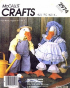 McCall's 2974 Sewing Pattern Stuffed Geese Animal Clothes