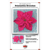 La Todera Patterns-Poinsettia Brooches