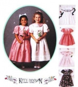 McCALL'S 7972 Little Girl Dress Sewing Pattern (Size 8) ~ Kitty Benton