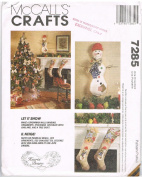 McCalls's Crafts 7285 Let It Snow Christmas