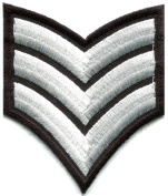 Army Navy Military Insignia Rank War Biker Retro Applique Iron-on Patch S-962 Handmade Design From Thailand
