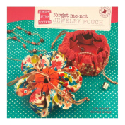 Straight Stitch Society Forget Me Not Jewellery Pouch Pattern