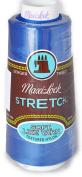 A & E Maxi Lock Stretch Textured Nylon Blue Serger Thread MWN-32059