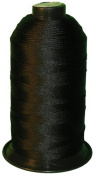 Black Bonded Nylon Sewing Thread Size #138 T135 1250 Yard for Outdoor, Leather, Bag, Shoes, Canvas, Upholstery
