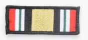 Tactical Iraq Campaign Medal Ribbon hook and loop Morale Patch
