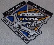 Babylon 5 TV Series Star Fury FA-23E Logo PATCH