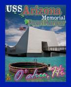 Best Ultimate Iron On USS Arizona Memorial Travel Collectable Souvenir Patch - National Parks & Monuments Souvenir Postcard Type Quality Photos Graphics - USS Arizona Memorial Travel