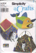 Simplicity Craft Sewing Pattern 9004 Beds For Cats