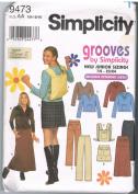 Simplicity 9473 Casual Teen Wardrobe