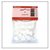 10 pk Clear Bobbin 4120975-45 - Viking, White