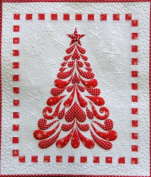 Cherry Blossoms Quilting Studio 'Feathered Christmas Tree' Applique Wall Hanging Quilt Pattern