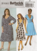 Butterick 5001, Women's Dress, Size RR(18W-24W), OOP
