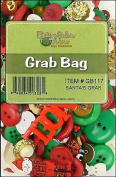 Buttons Galore Christmas Grab Bag with Craft and Sewing Buttons, 180ml