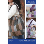 Indygo Junction Cinched Patchwork Satchel