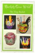 Sewing Pattern Mug Bucket Organiser