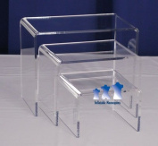 MS16 Mannequin Stand, Acrylic Riser Set, Small