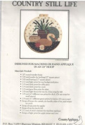 Country Still Life - Pattern & Fabric Kit for 46cm Round Applique Design