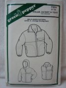The Green Pepper Polar Jacket & Vest Pattern for Children F804